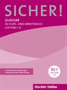 Εικόνα της Sicher! B2/1, Lektion 1-6. Glossar (Γλω