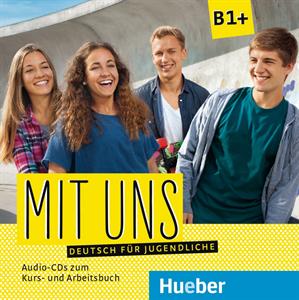 Εικόνα της Mit uns B1+ – Audio-CDs zum Kurs- und A