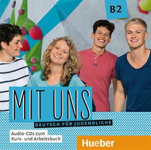 Εικόνα της Mit uns B2 – Audio-CDs zum Kurs- und Ar
