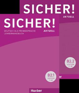 Εικόνα της Sicher! aktuell B2 – Paket Lehrerhandbu