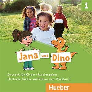 Εικόνα της Jana und Dino 1 - Medienpaket (Οπτικοακ